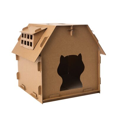 Mosely Cardboard Cat House