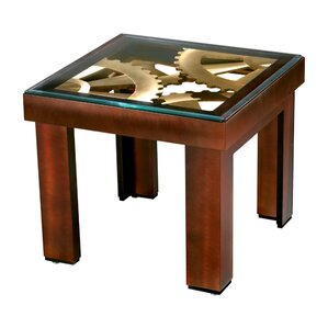 Gears End Table by Nova of California