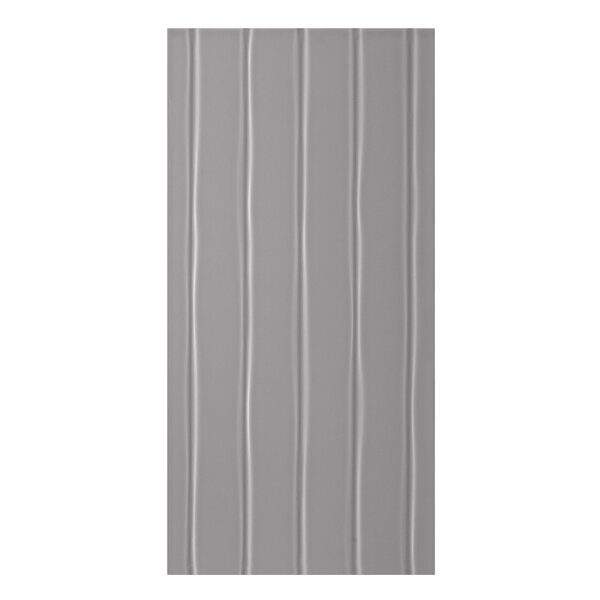 Conran Flow 10 x 20 Ceramic Wall Tile in Satin Smoke by Mulia Tile