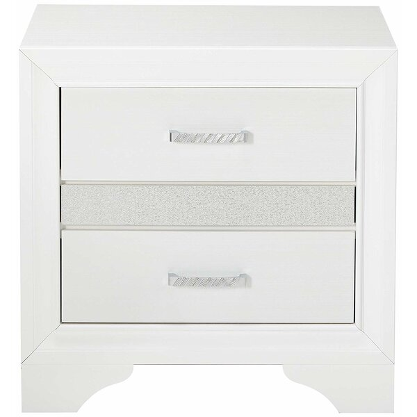 Lanier 2 Drawer Nightstand by House of Hampton