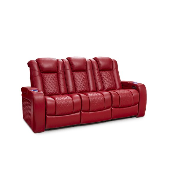Leather Home Theater Sofa By Laude Run
