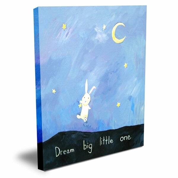 Words of Wisdom Dream Big Little One Canvas Art by Cici Art Factory