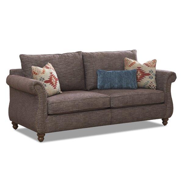 Kinzie 86'' Rolled Arm Sofa by Canora Grey Canora Grey