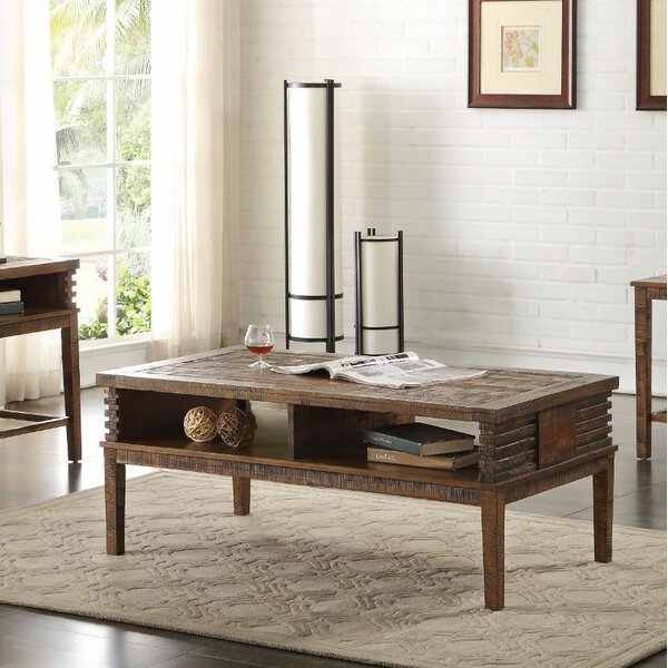 Polak Coffee Table with Storage by Union Rustic