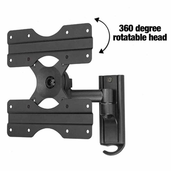 Extending Arm/Tilt/Swivel/Pan Wall Mount for 13 - 37 LCD by Ready Set Mount