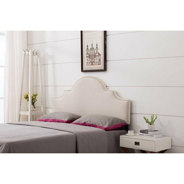 Badillo Upholstered Panel Headboard by House of Hampton
