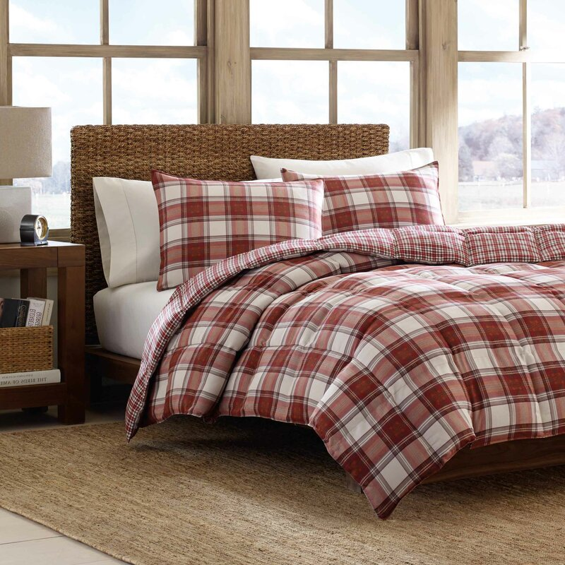 Edgewood 3 Piece Reversible Comforter Set