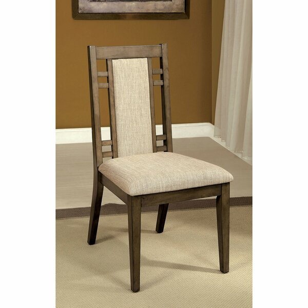 Livingon Upholstered Dining Chair (Set of 2) by Canora Grey Canora Grey