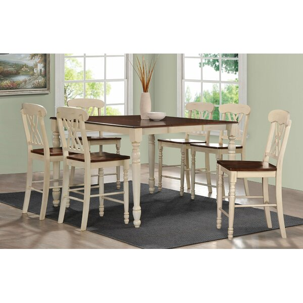 7 Piece Counter Height Dining Set by Infini Furnishings