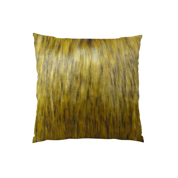 Mountain Coyote Handmade Throw Pillow by Plutus Brands
