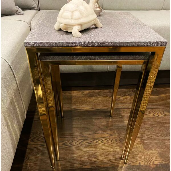 Gracia 2 Piece Nesting Tables By Mercer41