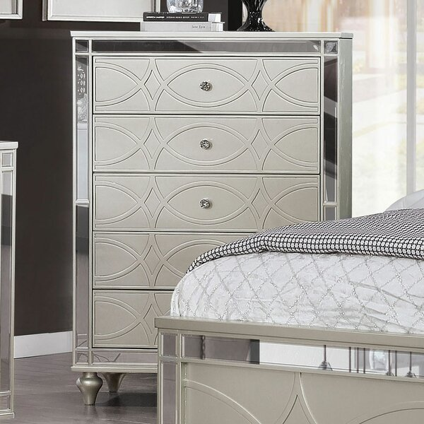Westrick 5 Drawer Chest by Rosdorf Park