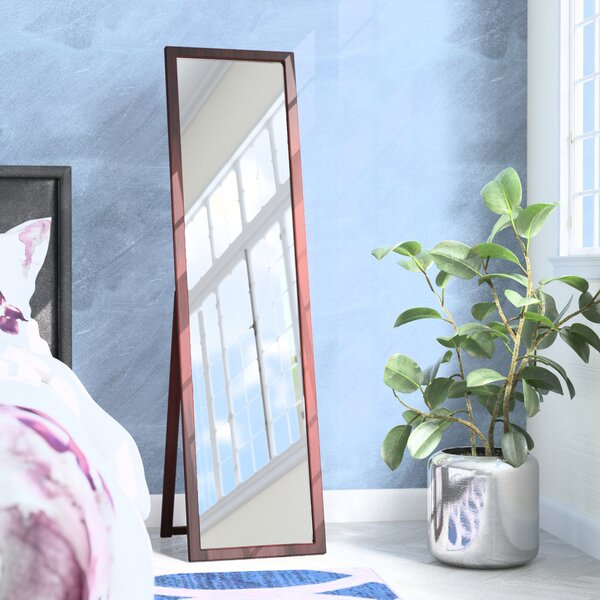 Kissel Full Length Rectangle Stand Mirror by Zipco