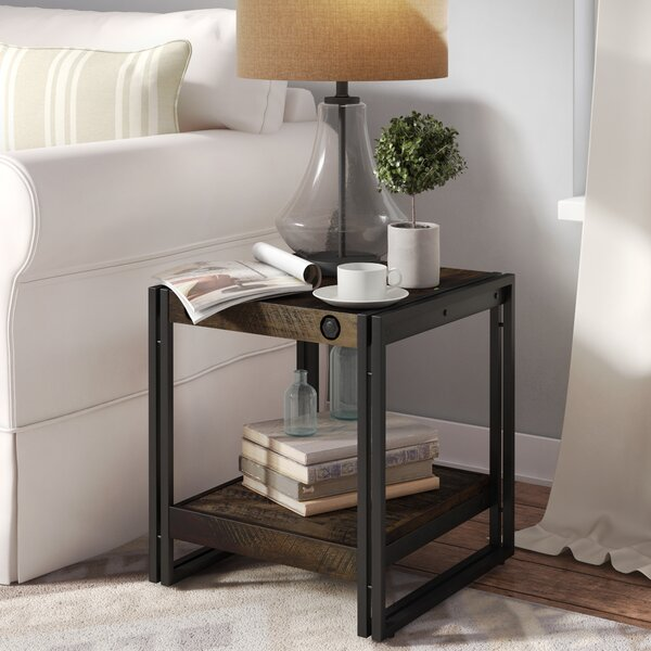 Sandisfield End Table by Union Rustic