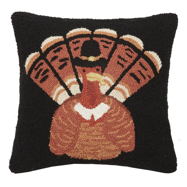 Mcelwain Turkey Wool Throw Pillow by The Holiday Aisle