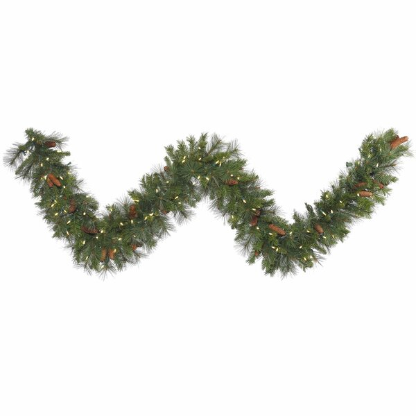 Savannah Mixed Pine Garland by The Holiday Aisle