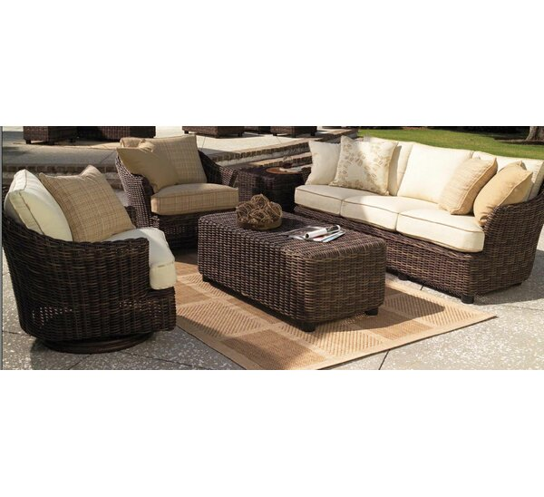 Sonoma Deep Seating Group with Cushions by Whitecraft