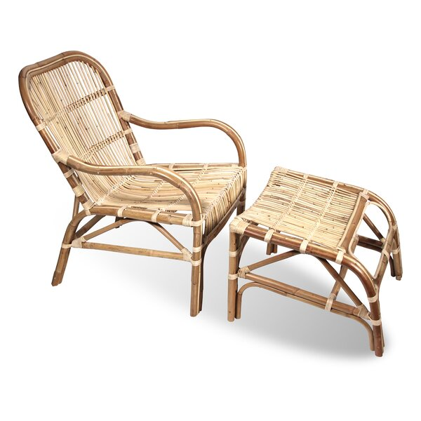 Lounge Chair and Ottoman by Ibolili Ibolili