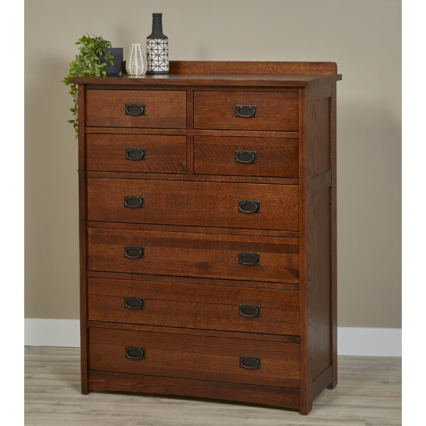 Linnea 8 Drawer Chest by Millwood Pines