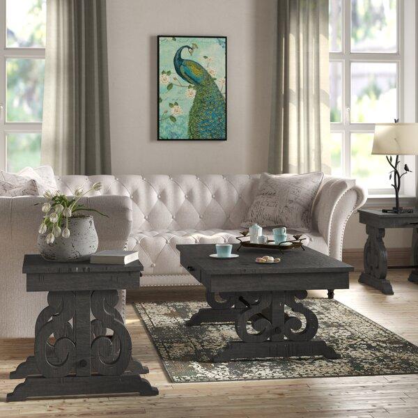 Kenworthy 3 Piece Coffee Table Set by Three Posts Three Posts