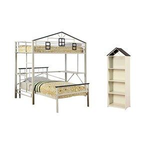 Daryl Loft Bed Configurable Bedroom Set