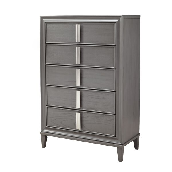 Delaria 5 Drawer Chest by Ivy Bronx