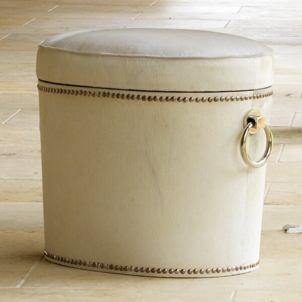 Chalis Ring Storage Ottoman By Global Views