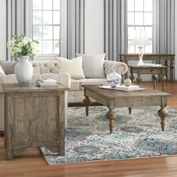 Clintwood 4 Piece Coffee Table Set by Three Posts Three Posts