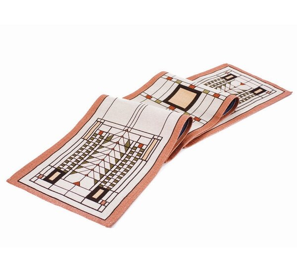 Frank Lloyd Wright ® Tree of Life Table Runner by Rennie & Rose Design Group