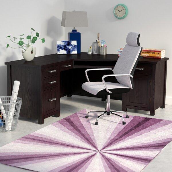 Powell 66 Wedge L-Shape Executive Desk by Latitude Run