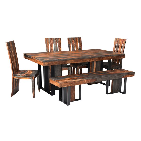 Mariano 6 Piece Dining Set by Foundry Select Foundry Select