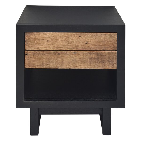 Old Boat 1 Drawer Nightstand by Hopper Studio