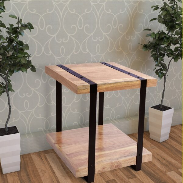 Bellanger End Table by Gracie Oaks