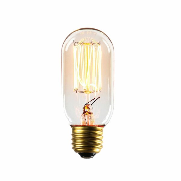 40W E26/Medium Incandescent Vintage Filament Light Bulb (Set of 4) by Light Society