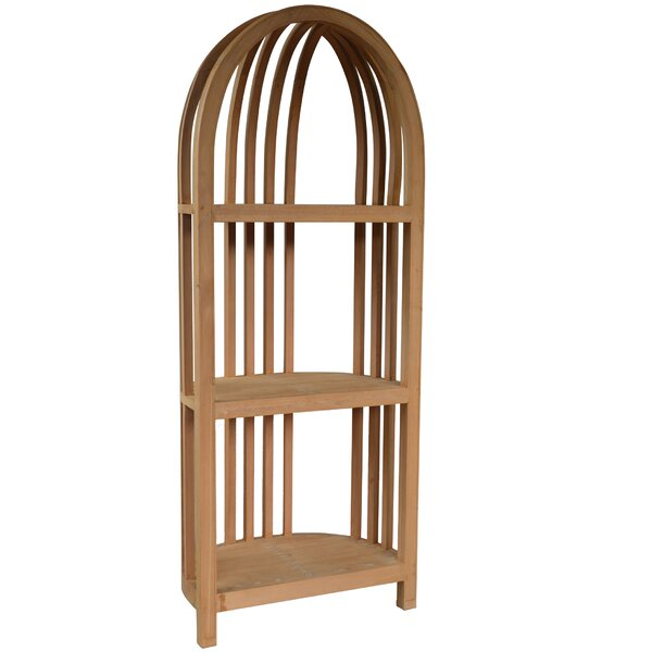 Wallagrass Corner Unit Bookcase by Loon Peak