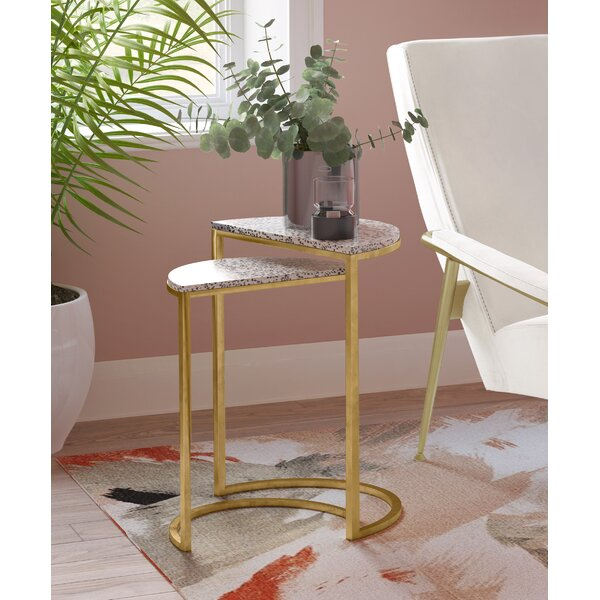 Cossey 2 Piece Nesting Tables By Everly Quinn