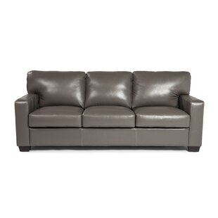 Hillcrest Leather Sofa