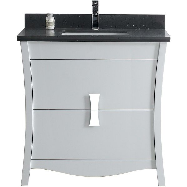 Bow 35.35 Single Bathroom Vanity Set by American Imaginations