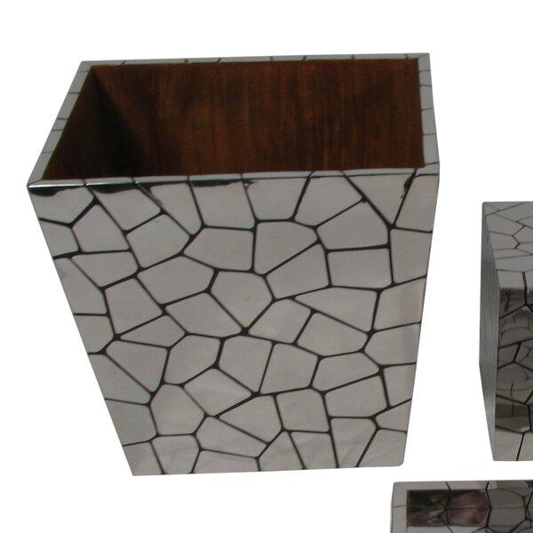Chameleon Metal Waste Basket by Oggetti