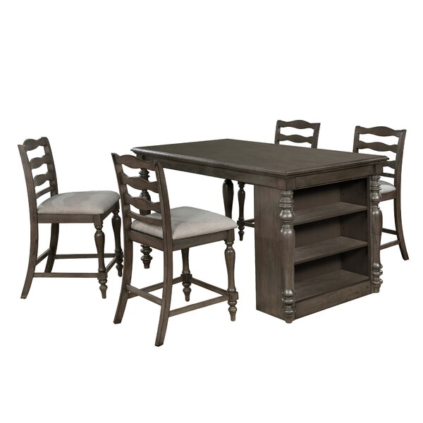 Traci 5 Piece Dining Set by Canora Grey Canora Grey