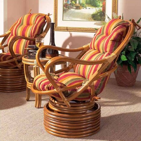 Delta Swivel Lounge Chair by Boca Rattan