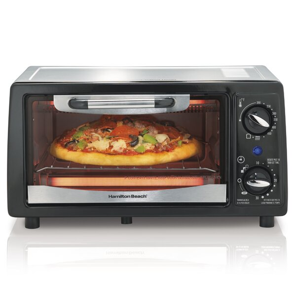4 Slice Toaster Oven with Bake Pan by Hamilton Beach