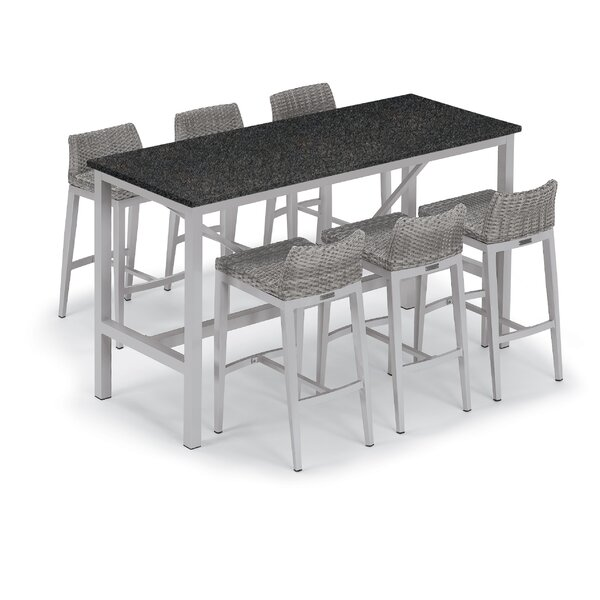 Maclin 7 Piece Bar Height Dining Set