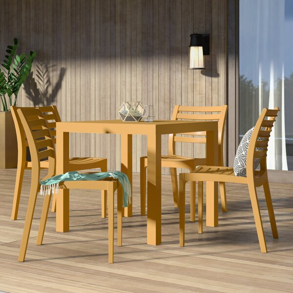Melissus 5 Piece Dining Set By Mercury Row