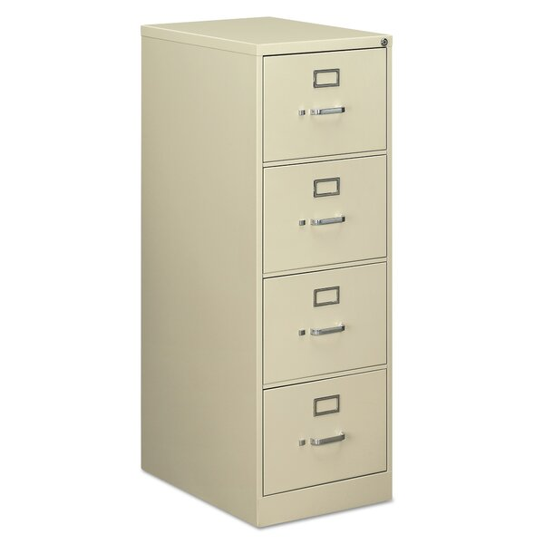 Saffo 4-Drawer Vertical Filing Cabinet by Symple Stuff
