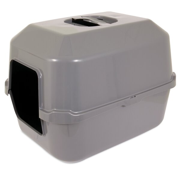 Hooded Standard Litter Box by Petmate