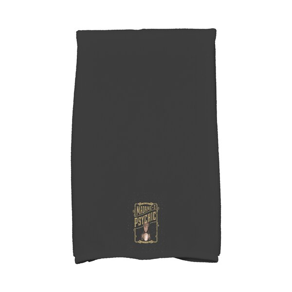 Maser Madame Psychic Halloween Hand Towel by The Holiday Aisle