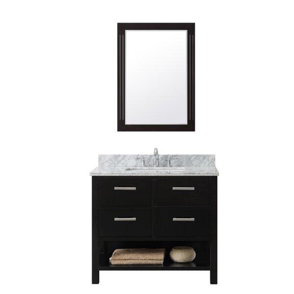 37 Single Bathroom Vanity Set by InFurniture