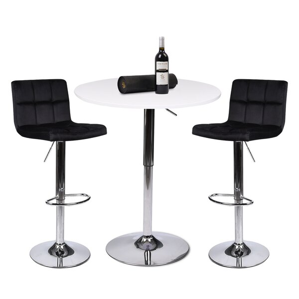 Aswaldi 3 Piece Dining Set by Orren Ellis