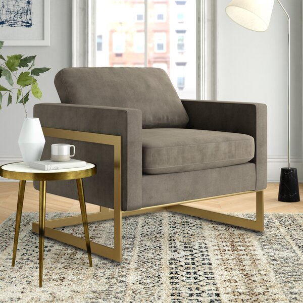 Nathanial 25.59-inch Armchair by Foundstone Foundstone